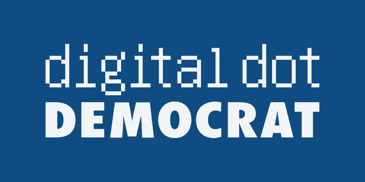 Digital Dot Democrat Logo